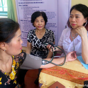 A study in Vietnam shows Primary Health Care strengthening will help reducing NCDs risks in the region