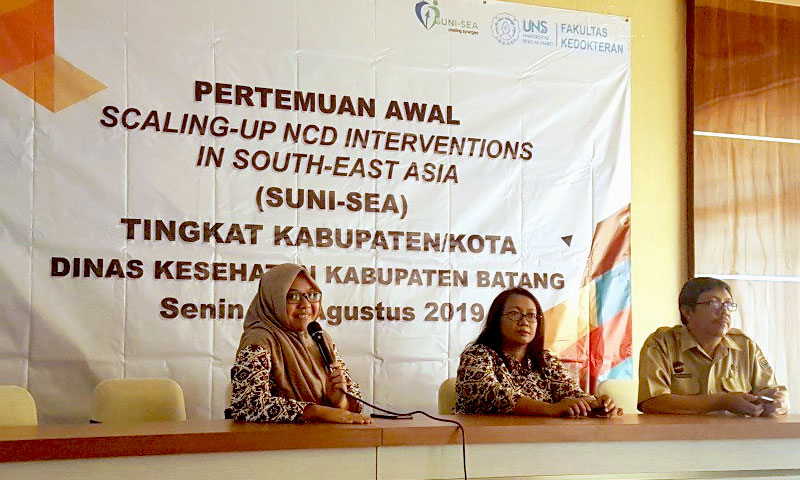 Kick-off meeting of SUNI-SEA in Central Java, Indonesia