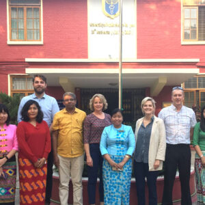 European SUNI-SEA academics visit Myanmar to better understand local health contexts