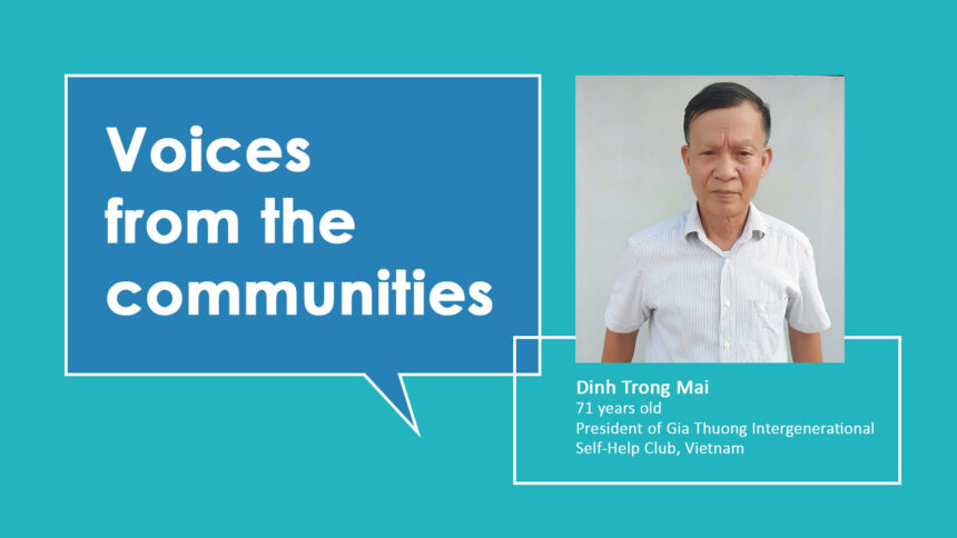 Voices from the communities: Dinh Trong Mai from Vietnam